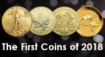 Just Released: The First Coins of 2018